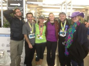 Tanya Sylvan, Zack Sylvan / Mercedes Marathon, Birmingham AL / 2012